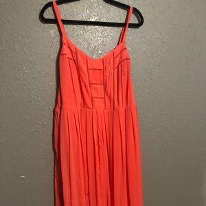 Torrid Size 3 Corral Maxi Dress